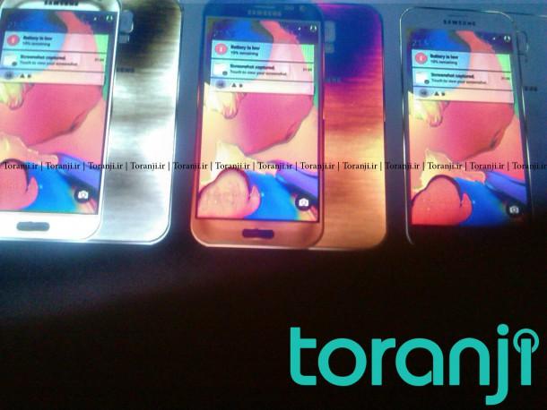 Samsung Galaxy S6 színváltozatai