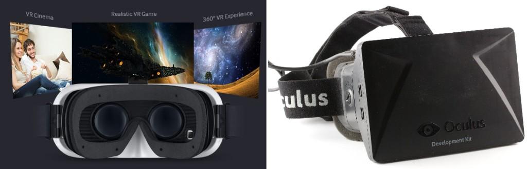 Samsung Gear Vr és  Oculus Rift