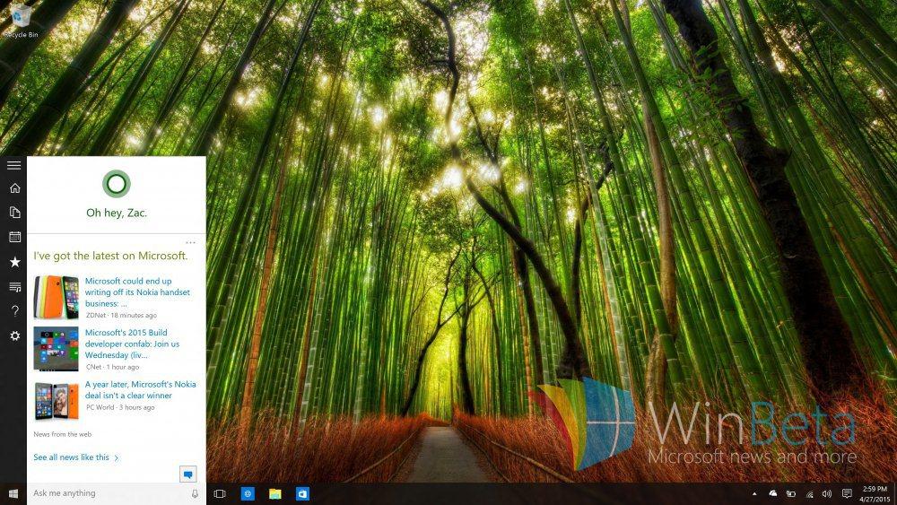 Cortana-Start