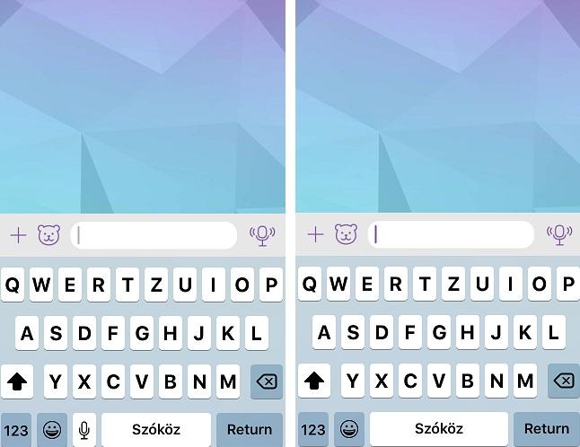 iOS-diktalas-gomb-billentyuzet