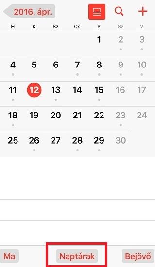 ipad naptár Tipp: Naptár testreszabása iPhone és iPad készülékeiden | iCuccok  ipad naptár