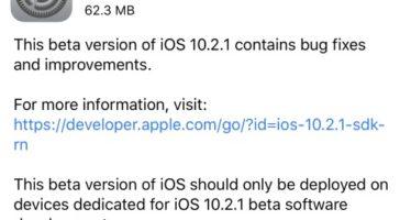 Elérhető az iOS 10.2.1 beta 3 e6480d3eb8