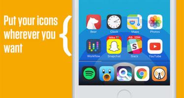 Így is kezelhetnénk az iPhone ikonjait iOS 11 alatt 3317edabbe
