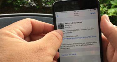 Sebességteszten az iOS 10.3.3 második bétája és az iOS 10.3.2 469ec33106