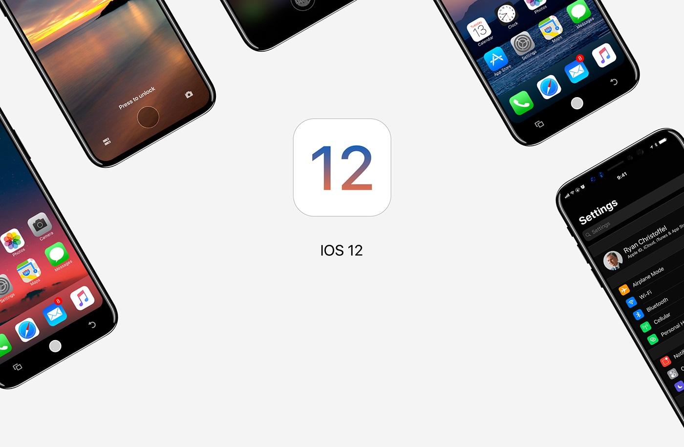 Itt Ios 12 Koncepci 243 Icuccok Apple H 237 Rek 250 Jdons 225 Gok